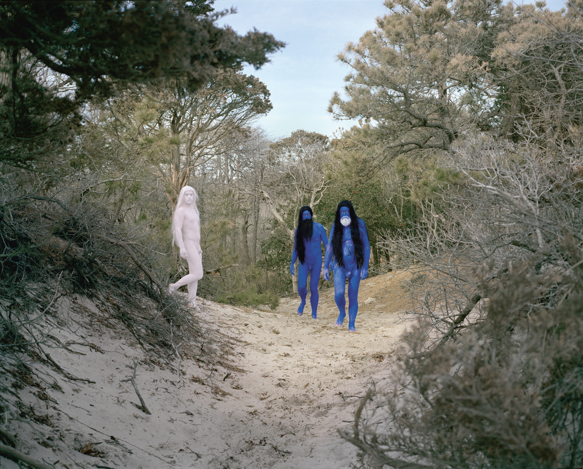 AA Bronson, Blue (2012). Courtesy: the artists, Esther Schipper