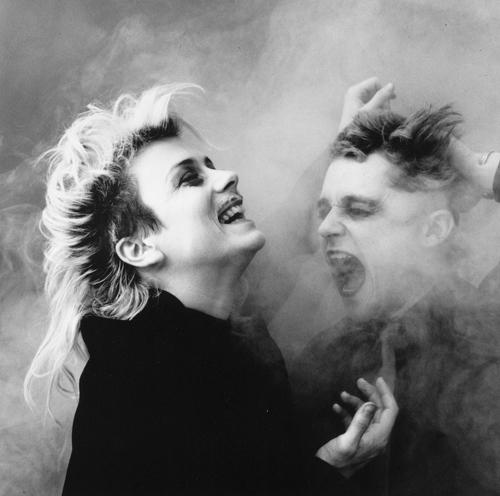 Louise Lecavalier, Marc Béland in Human Sex (1985), a choreography by Édouard Lock. photo: Édouard Lock