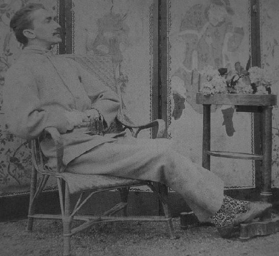 Comte de Montesquieu – He is reputed to have been the inspiration for Jean des Esseintes in Joris-Karl Huysmans' À rebours (1884)