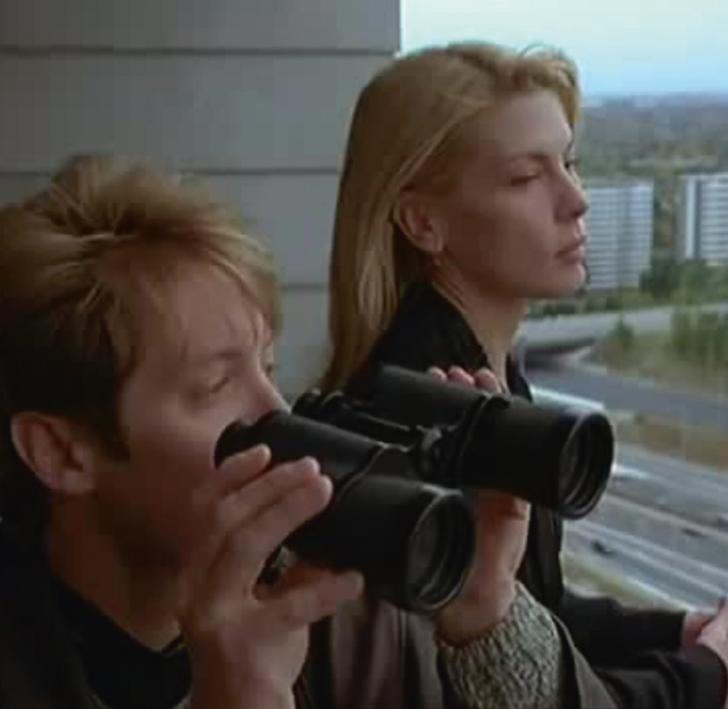 Filmstill from David Cronenberg's Crash (1996)