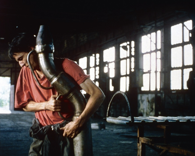 Machine specialist Jacques (Pierre Louis-Calixte), That Old Dream that Moves, 2001