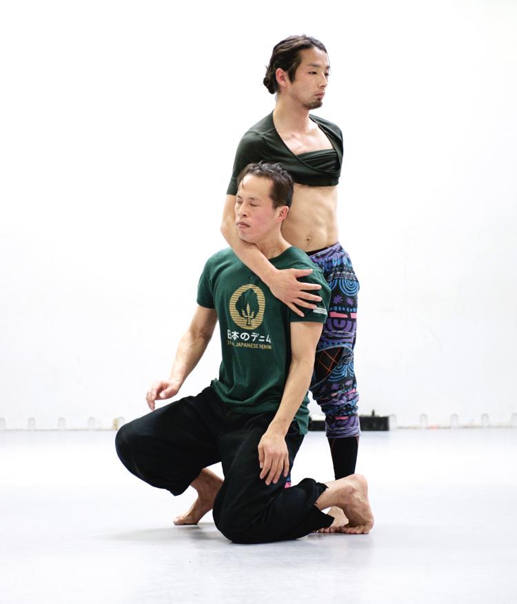 Rehearsal photos Dan-su, 2014/2015 Courtesy: C/Ompany / photos Hironori Tuskue