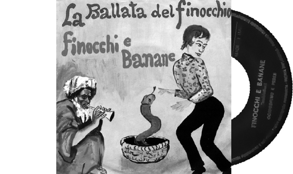 La Ballata Del Finocchio is another perfect cover, a great blend of homophobic, bad artwork and tongue-in-cheek. Please note: this is one of the few non-outlaw records as it was issued on FDM, which means Franco Del Mare, who is none other than Franco Trincale, the last of the great Italian 'cantastorie' (ballad singer) who still is one of the primary working-class voices. I am telling you all this trivia because this might be the lewdest sleeve in my collection, and it could even have been legal, probably because it's homophobic, and homophobia – in a Catholic country like Italy – has always been tolerated.
