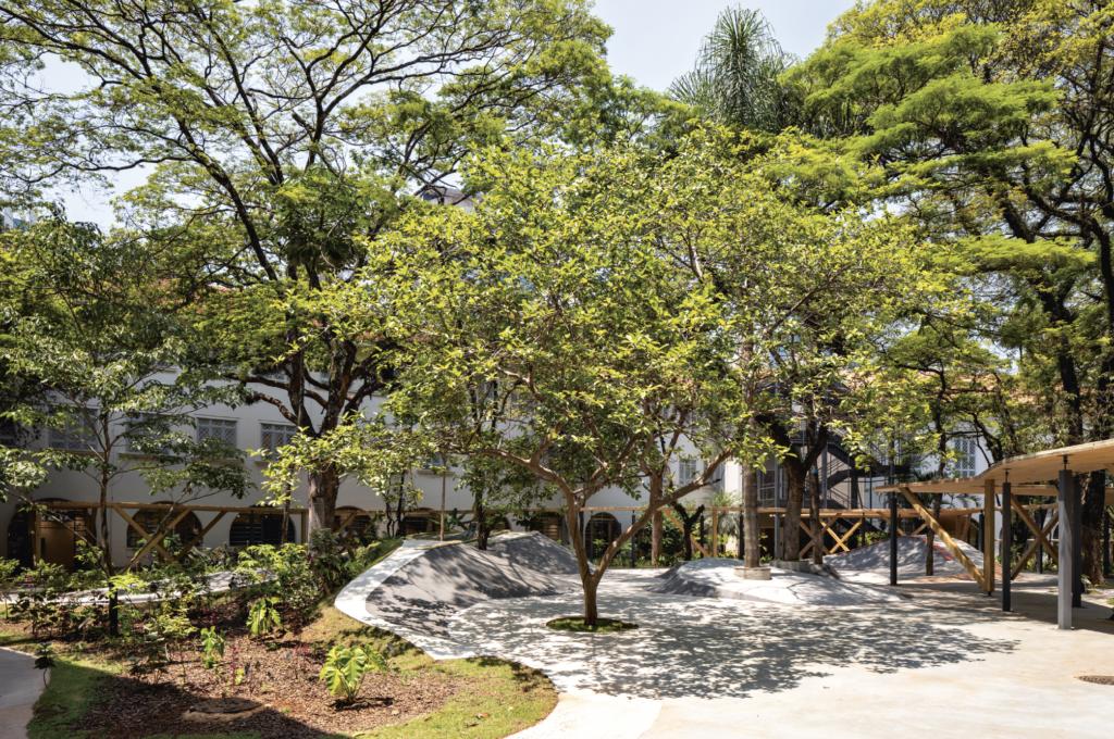 Concept School, São Paulo, Brazil, designed by Triptyque. Photo: Fran Parente