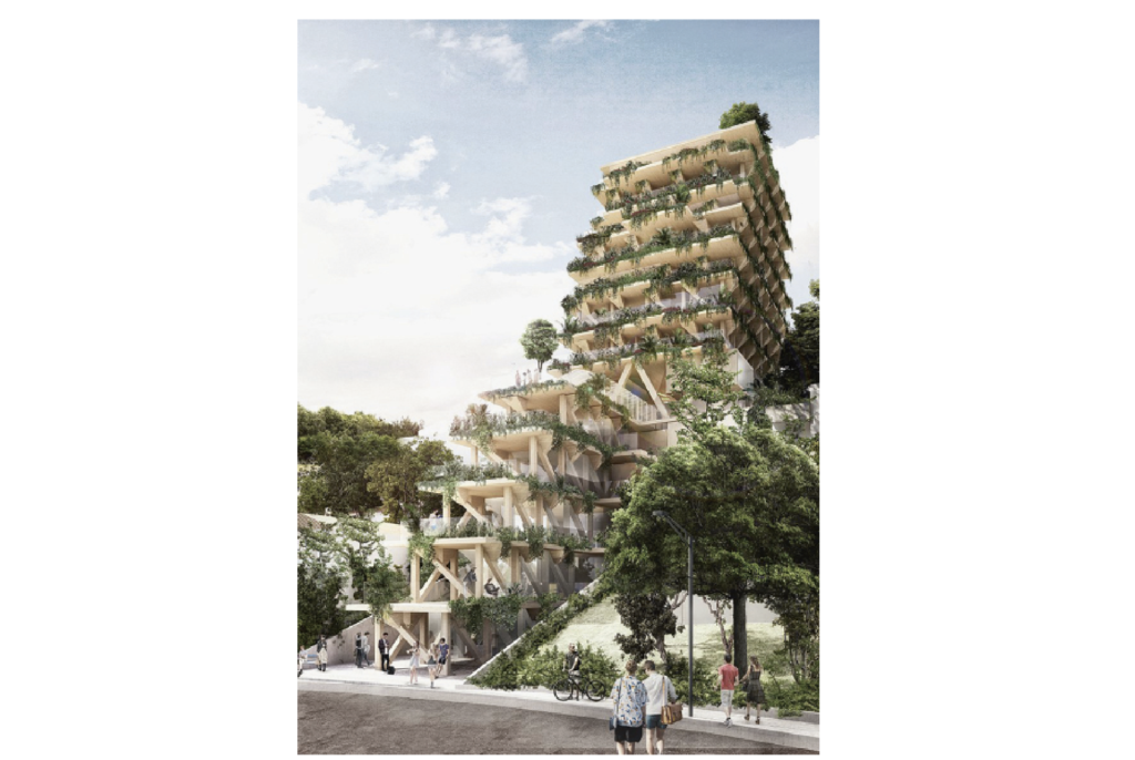 AMATA Urban Forest project, São Paulo, Brazil. Set to be completed in 2020. Courtesy: Triptyque