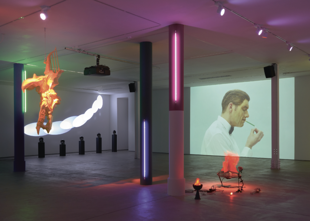 Installation view of My Head is a Haunted House, 2019. Photo: Robert Glowacki Courtesy of the artists and Sadie Coles HQ, London