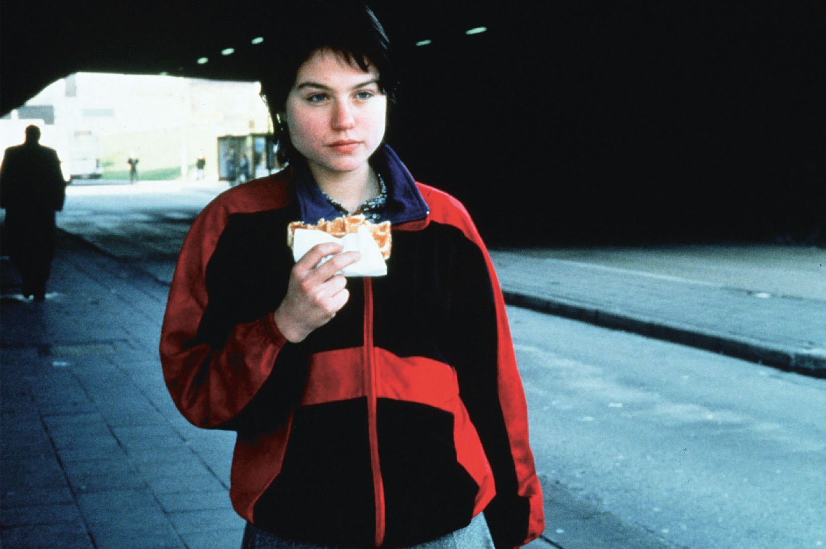 Still from Rosetta (1999), directed by Jean-Pierre and Luc Dardenne. Courtesy of ARP Sélection, Paris